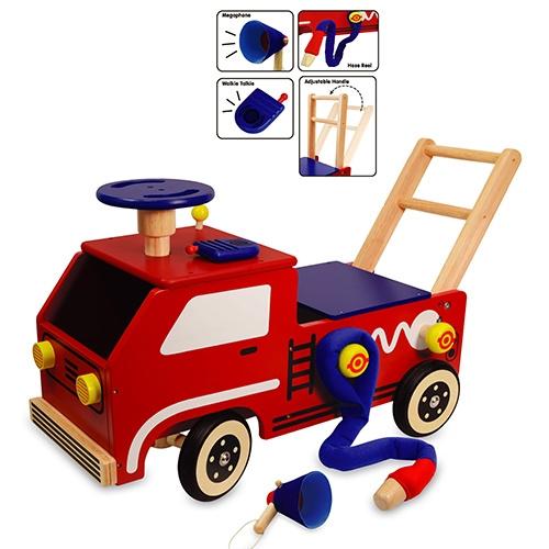 Brandweerauto Loopwagen I'm Toy 87120