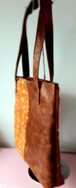Shopper Bambi Cognac.