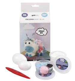 Foamklei Pakket Unicorn Blauw