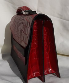 Little Red Croco Bag
