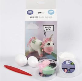 Foamklei Pakket Unicorn Roze.