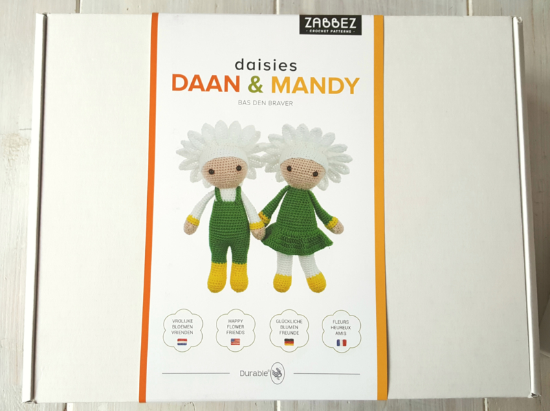 Haakpakket Daan & Mandy.