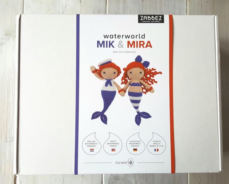 Haakpakket Mik & Mira.