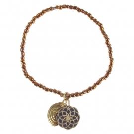 armband - Lily copper bracelet
