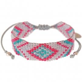 Calli grey Aztec bracelet