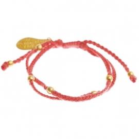 armband - Flash red bracelet