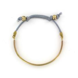 Kakumbo Cord Bracelet grey by Made Kenya