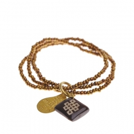armband - Anju Copper Buddha charm bracelet