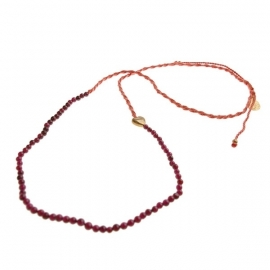 ketting - Daze red necklace