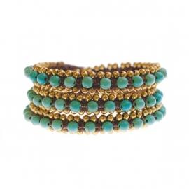 Dauphina wrap turquoise