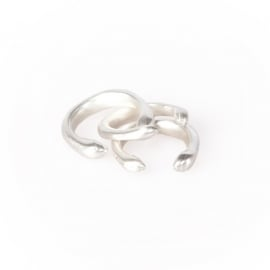 ring - Mwezi rings silver plated by Made Kenya