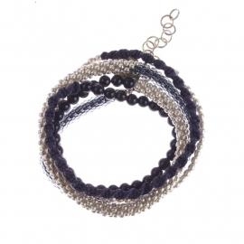 Superwrap Grey bracelet