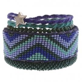 armband - Tialoc blue bracelet