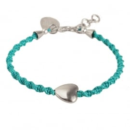armband - From the heart turquoise bracelet