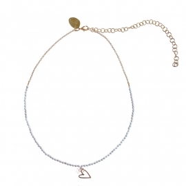 armband - Silver wishes necklace