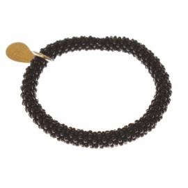 armband - Twist smokey bracelet