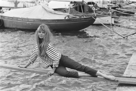 Mais Oui ! Vintage Bardot stripes