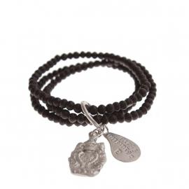 armband - Anju Glass Buddha charm bracelet