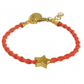 armband - Wish on a star sunset bracelet