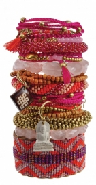 armband - Ruby wishes bracelet