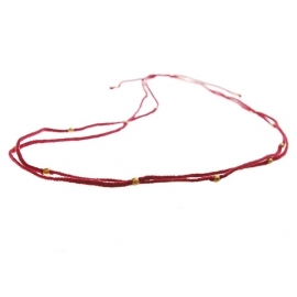 ketting - Flash red necklace