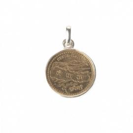 hanger - Lucky Buddha lucky coin pendant