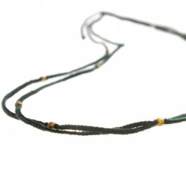 ketting - Flash green necklace