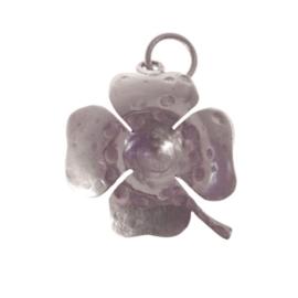 Lucky Buddha lucky clover pendant