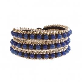 Dauphina wrap blue