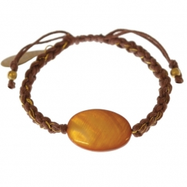 armband - Glare Brown bracelet