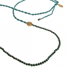 ketting - Daze green necklace