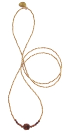 Chitra golden necklace