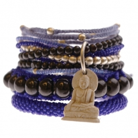 armband - Flash blue bracelet