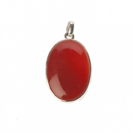 hanger - Lucky Buddha red onyx pendant