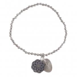 armband - Lily silver bracelet