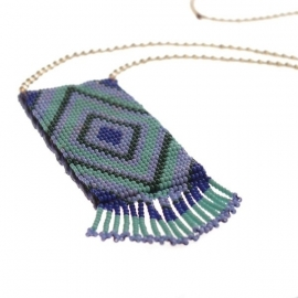 ketting - Tialoc blue necklace