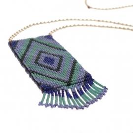 ketting - Tialoc blue necklace