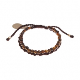 armband - Daze brown bracelet