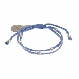 armband - Flash blue bracelet