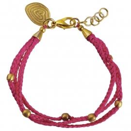 armband - Glaze ruby bracelet