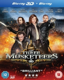 3D Blu-ray Three Musketeers