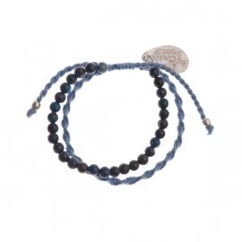 armband - Daze blue bracelet