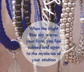 ketting met hanger - Sunita white (silver) Buddha charm necklace
