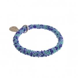 armband - Twist sundry blue bracelet