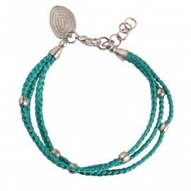 armband - Glaze turquoise bracelet
