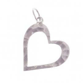 Lucky Buddha heart pendant