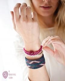 armband - Maze Iris bracelet