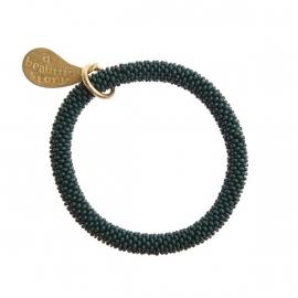 armband - Twist green bracelet