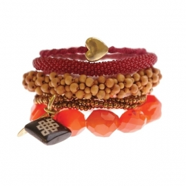 armband - Port bracelet carneool