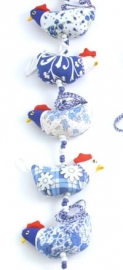 chicken string blauw-wit